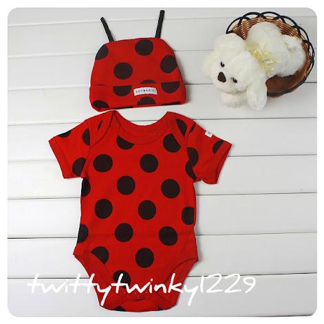 Baby Animal Safari Costume Outfit w Hat Bee Cow Gireffe Zebra Leopard Ladybird