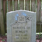 Tolbertus Lee Hewgley Son of Nelson R. & Susan Gleaves Hewgley Old Dozier Cemetery Cheatham County, Tennessee