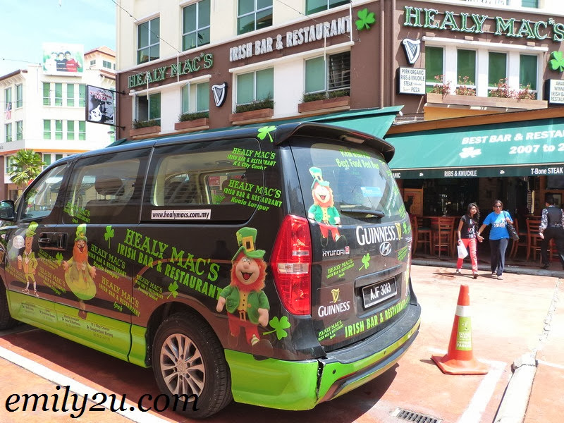 Healy Macs Irish Bar Restaurant Ipoh