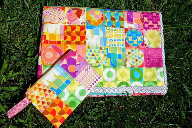 The Fuck You Lymphoma Quilt | quilted by Jill Dorsey of Made with Moxie for Thomas Knauer's Abecedarian Quilt-A-Long.