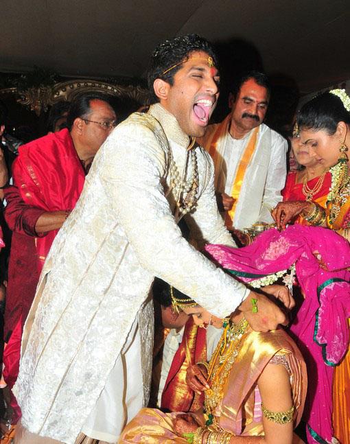 Telugu Actor Allu Arjun Marriage Photos AlbumTelugu Exclusive StillsTelugu Pics