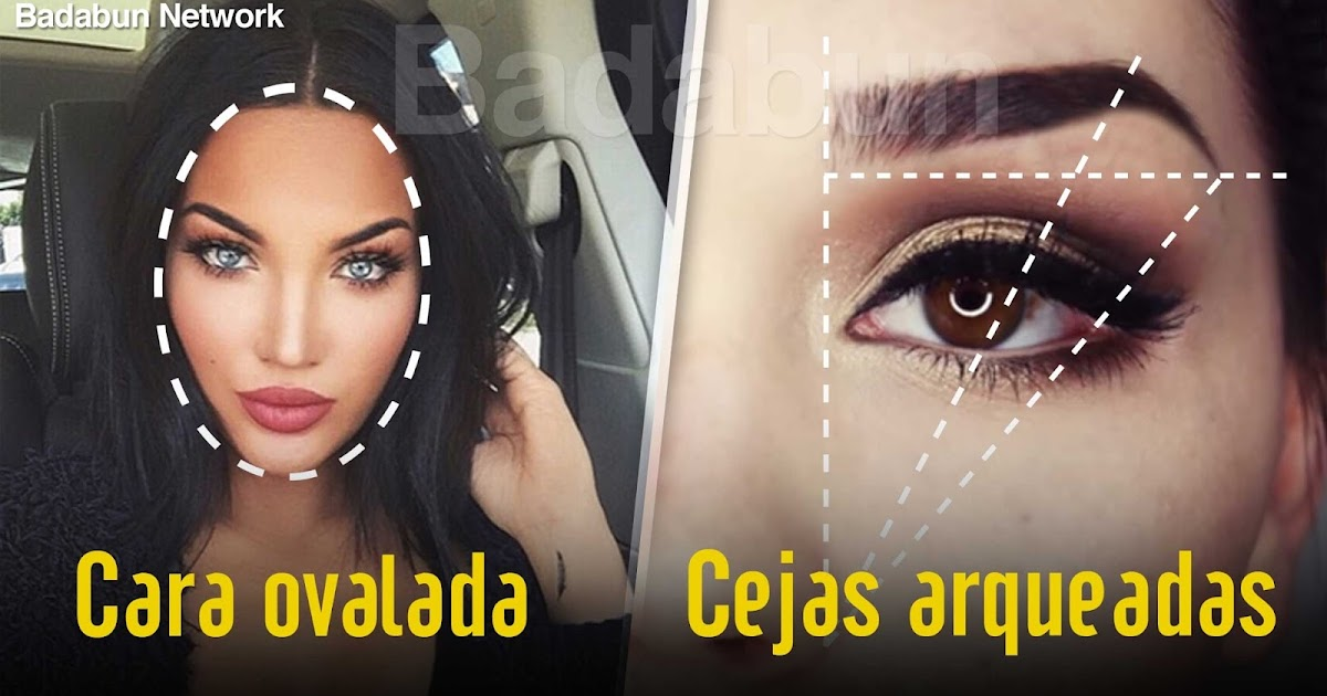 claves: cejas perfectas cara hermosa ideal