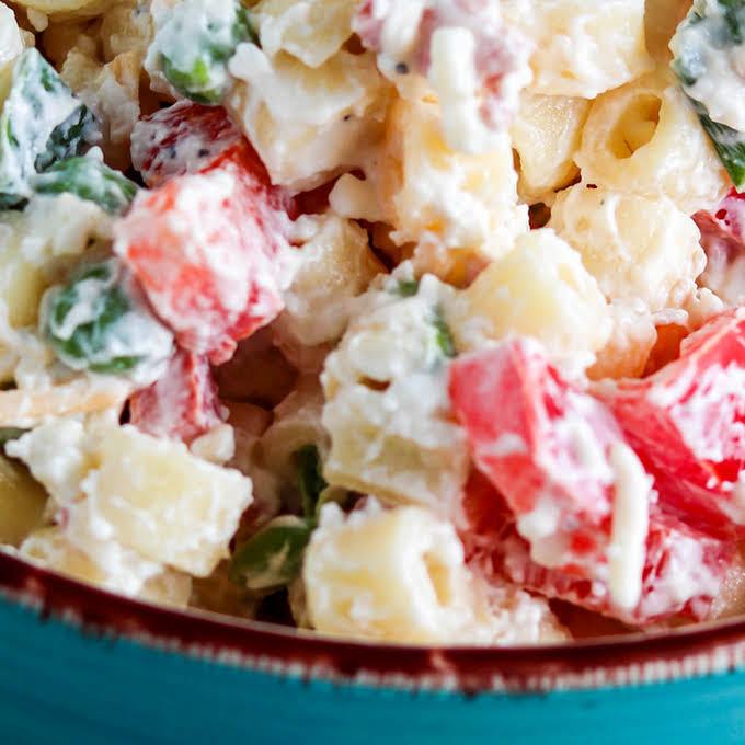10 Best Creamy Garlic Pasta Salad Recipes