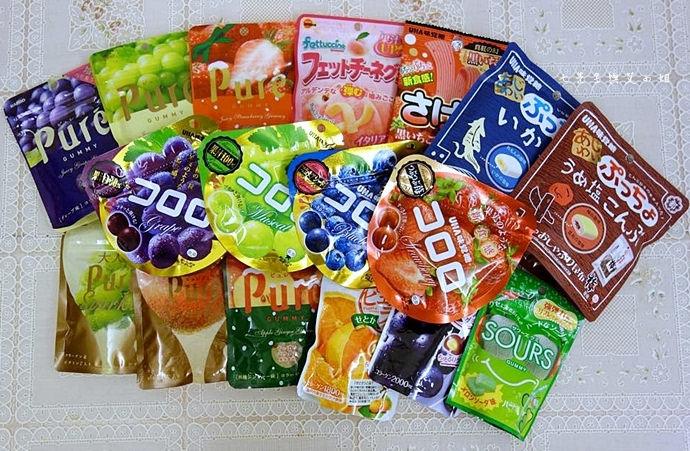 3 日本人氣軟糖推薦 UHA味覺糖 KORORO pure 甘樂鮮果實軟糖
