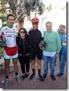I vincitori di Fascia con gli organizzatori