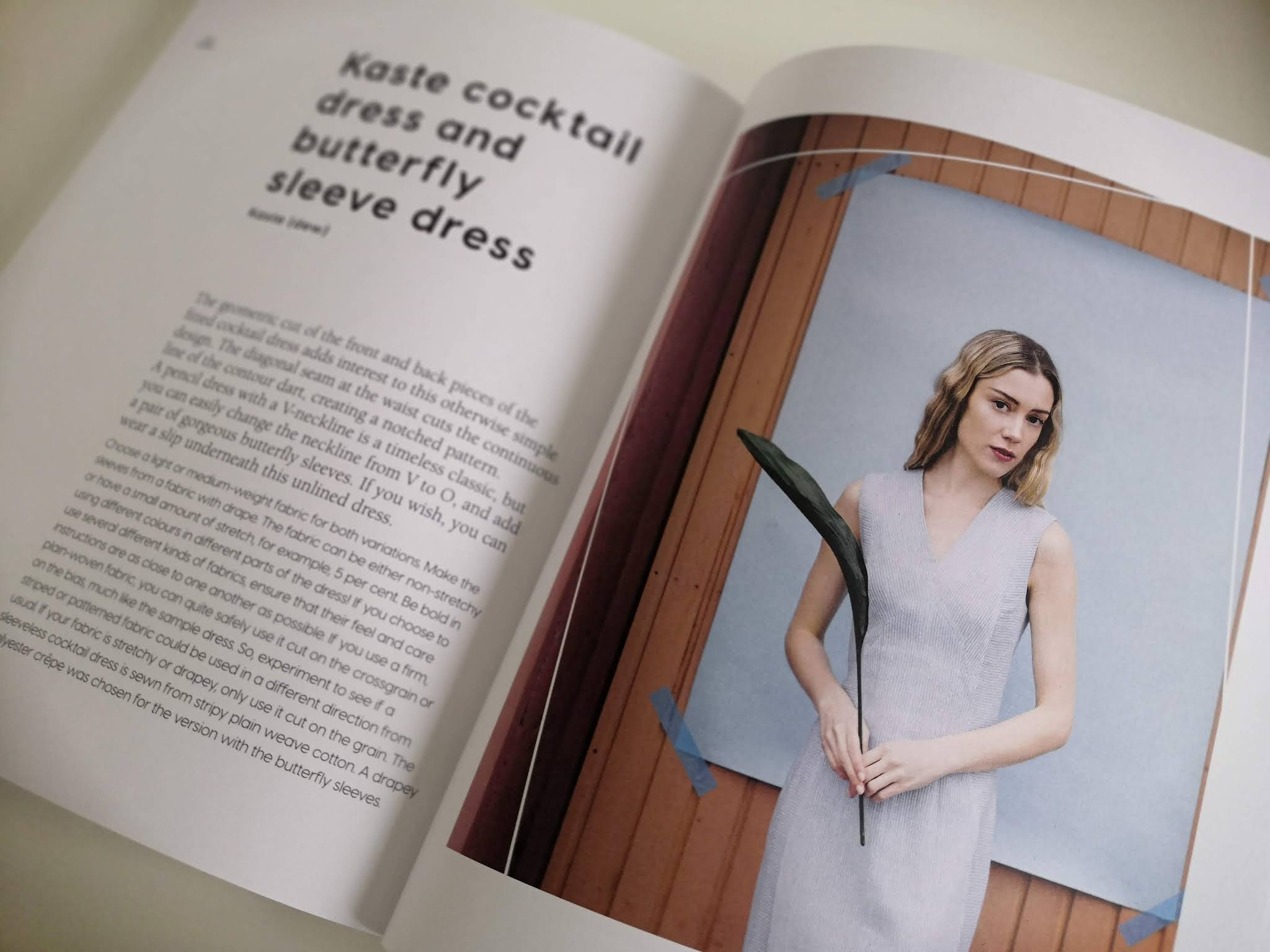 Review of the Named Patterns Kaste dress sewing pattern, from the book 'Breaking the Pattern'