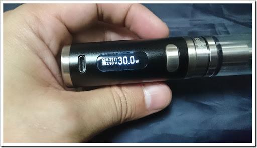 DSC 1827 thumb%25255B3%25255D - 【MOD】パワフル手のひらサイズ「Eleaf iStick Pico 75W」レビュー!VTWo/VTC MiniやiPhoneより小さい!【Mini Volt、Nugget超え小型MOD】
