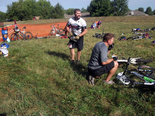 Transition Area at Wakarusa Off Road Challenge