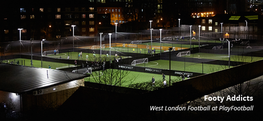 PlayFootball - Shepherd's Bush