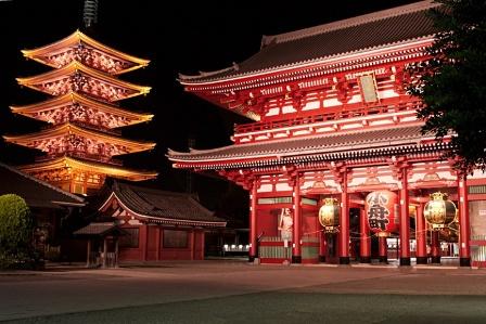 Kuil Sensoji, Tokyo