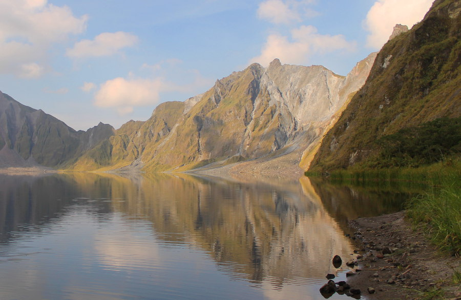 A Facet of Pinatubo