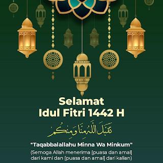 Selamat Idul Fitri 1442