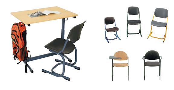 Mobiliario escolar muebles para escuelas y universidades for Sillas escolares para zurdos