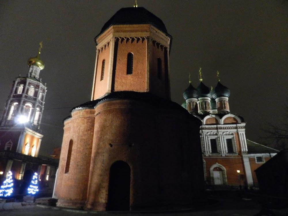 bit orthodox church and monastery near Tverskaya....
