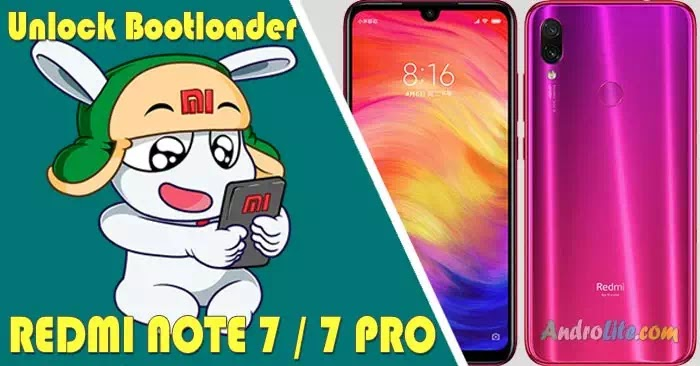 Unlock Bootloader (UBL) Redmi Note 7 / Note 7 Pro