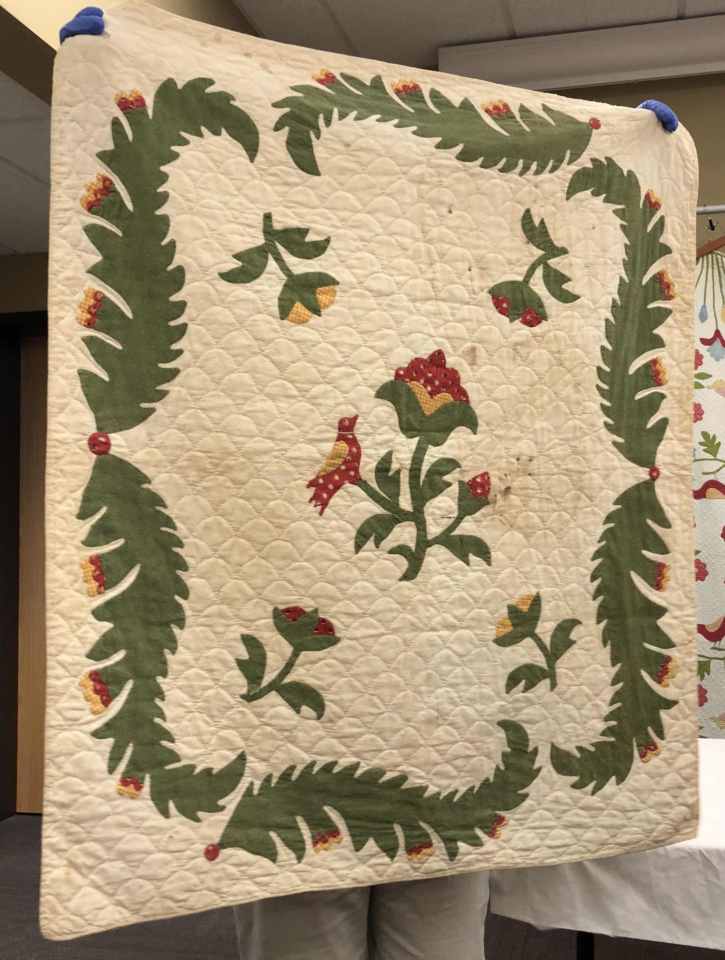 Most Of The Crib Quilts Made In The 1800S Were