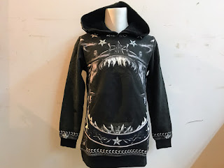 Givenchy Shark Hoodie XS