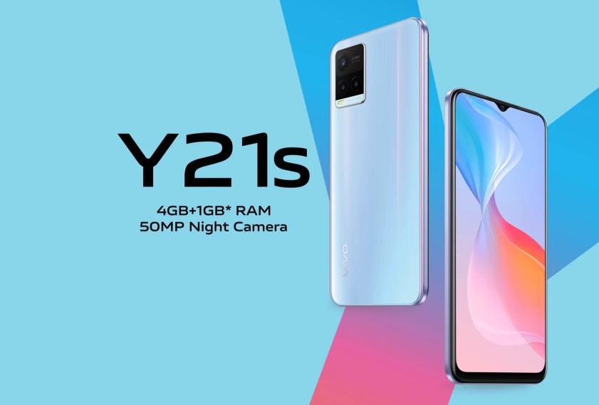 Harga dan Spesifikasi Vivo Y21s RAM 4GB ROM 128GB Terbaru Berkamera 50MP