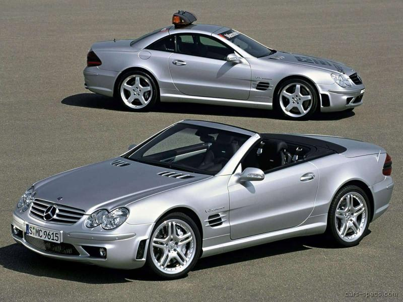 2008 mercedes benz sl class sl55 amg specifications for Mercedes benz sl55 amg