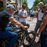 Motorcycles at Mercato