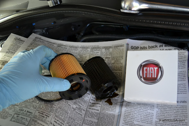 Fiat 500 And 500 Abarth Oil Filters