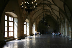 Vladislav Hall, the Royal Palace, Prague Castle