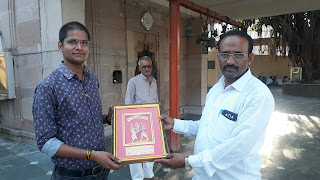 Ankit Kumar Jaiswal Jaunpur Founder of Naya Sabera & Jaunpur Live With Moti Lal Yadav Adhyaksha Shree Durga Pooja Mahasamiti Jaunpur