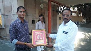 Ankit Kumar Jaiswal Jaunpur Founder of Naya Sabera & Jaunpur Live With Moti Lal Yadav Adhyaksha Shree Durga Pooja Mahasamiti Jaunpur MR. JOURNALIST ANKIT JAISWAL