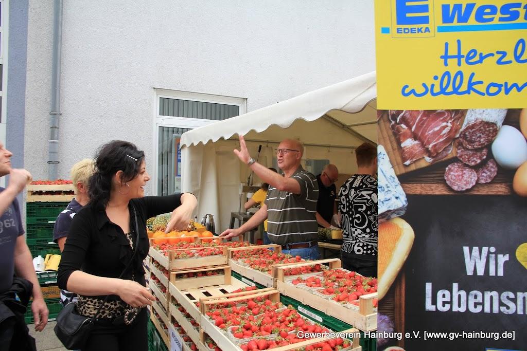 EDEKA Westphal bot wieder frsiche Früchte im Becher
