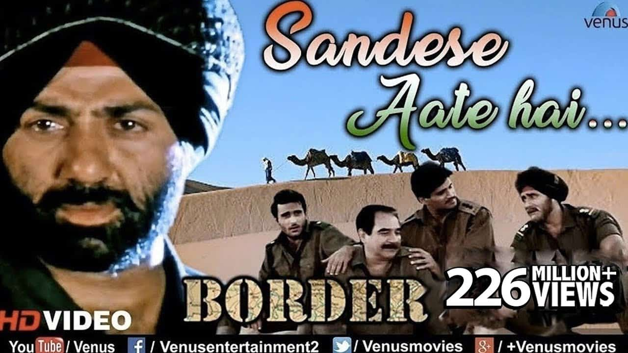 Sandese Aate Hai Lyrics - Border