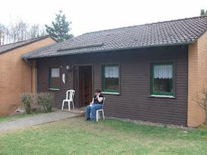 Photo: Das Familienhaus 4 - unsere feudale Unterkunft.