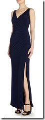 Lauren Ralph Lauren navy beaded strap dress