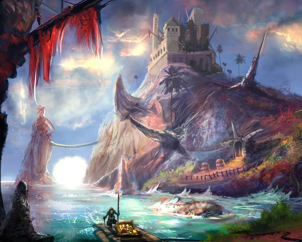 Island Of Dreams, Magical Landscapes 1