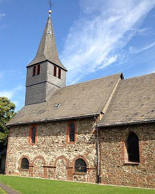 Sankt-Martins-Kirche von Bromskirchen