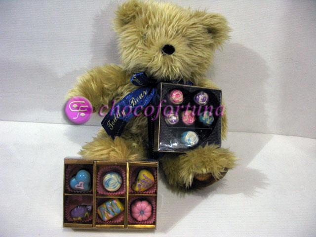 Parcel Coklat Teddy