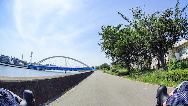 鶴見川 サイクリング