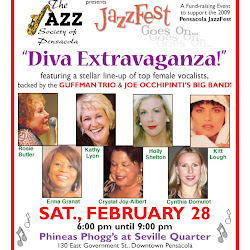 "JazzFest Goes On, ""Diva Extravaganza"" Feb. 28, 09"