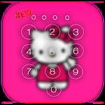 Kawaii Kitty Lock Screen theme