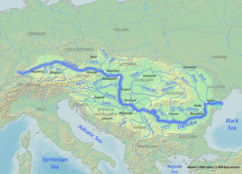Ο δουναβησ ο δούναβης είναι ο δεύτερος