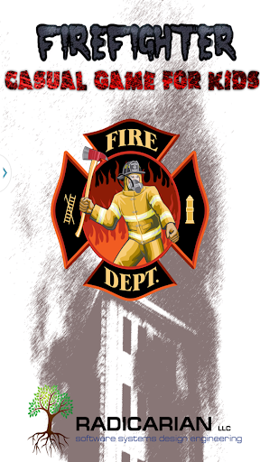 Firefighter Casual Kids Game