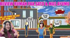 ID Rumah Sato dan Ayumi di Sakura School Simulator Cek Disini