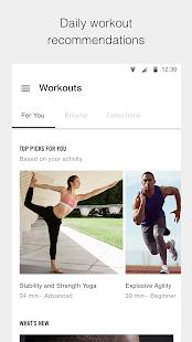 Nike Training Club - Workouts & Fitness Guidance Screenshot