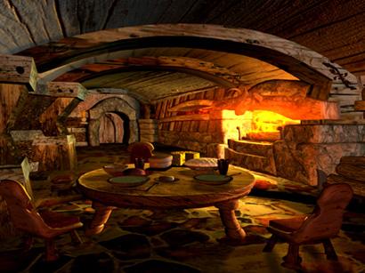 Prancing Pony Courtyard, Fantasy Scenes 1