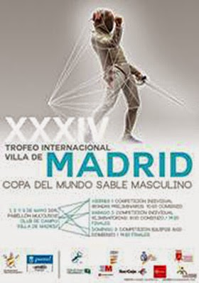 Trofeo Internacional de Sable Villa de Madrid 2015