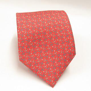 Hermès Anchor Tie