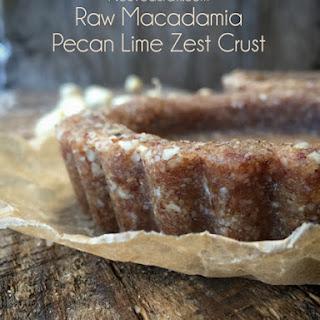 Macadamia Pecan Lime Zest Crust (raw, GF, vegan)