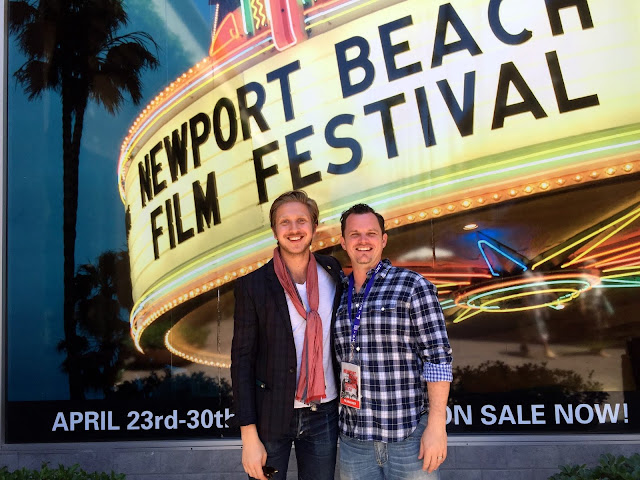 Adam Shell and Nicholas Kraft, who created the film Pursuing Happiness