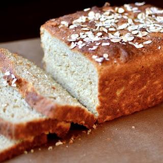 Gluten-free Honey Oat Bread.