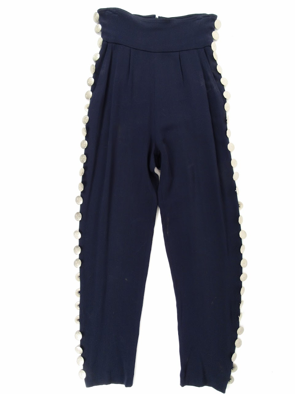 Rifat Ozbek High Waisted Pant