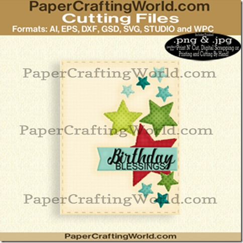 Birthday blessigs card cover-cfb-650